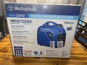 New Westinghouse Igen2200 Portable Inverter Home Rv Camp Gas Generator 1800 2200