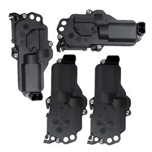 For Ford Door Lock Motor Actuators Set 2left 2right For F250 F350 Super Duty