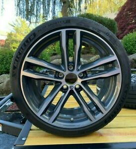 4 Original Bmw Summer Wheels And Tires For 3 Series Style 704 M Like New