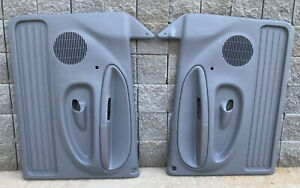 1998 2002 Dodge Ram 1500 2500 3500 Door Panels Gray Left And Right Extended Oem