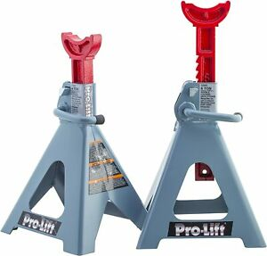 Double Pin Jack Stand 6 Ton 1 Pack Comes With 2 Adjustable Beam Double Locks