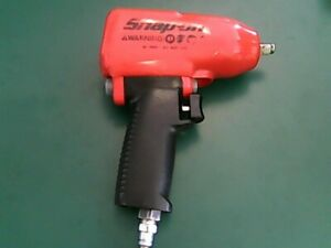 Snap on Tools 3 8 drive Pneumatic Air Impact Wrench Mg325 ao1047641