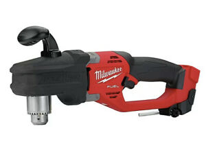 Milwaukee 2807 20 M18 Fuel Hole Hawg 1 2 In Right Angle Drill tool Only