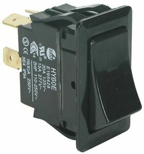 Power First 2vlr2 Rocker Switch Dpst 4 Connections