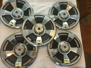 1966 Corvette Hubcaps Very Good Condition original Spinners Hardware Included