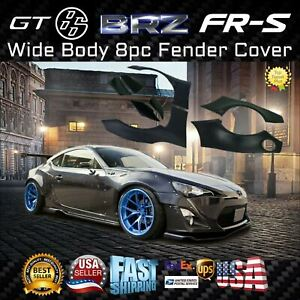 For Subaru Gt86 Brz Fr s 12013 2020 Wide Body 8pc Fender Flares Cover