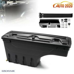Rear Left Side Plastic Tooling Box For 2007 18 Chevy Silverado Gmc Sierra New