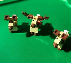 Lego Reindeer Only From Santa s Workshop 10245 New Pieces Brick Built Animal