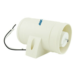 White 12v 3 In line Marine Cabin Bilge Engine Air Blower 145 Cfm Quiet Boat