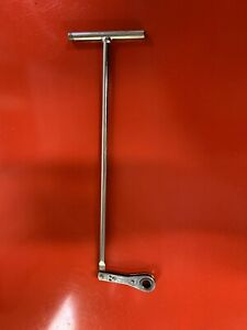 Snap On Vintage Metric Rtbm 10mm Tee Handle Ratchet Wrench Very Rare