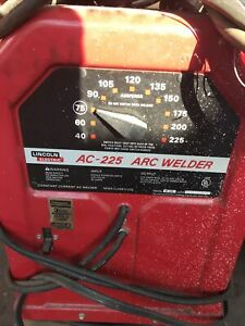 Lincoln Electric Ac 225 s Arc Stick Welder 230v Sngl Phase