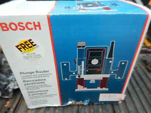 Usa Made Older Bosch 1613evs Variable Speed Plunge Router W 1 2 1 4 Collets