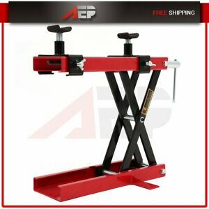 1100lb Mini Scissor Lift Hoist Stand Lift Jack Atv Motorcycle Dirt Bike Scooter