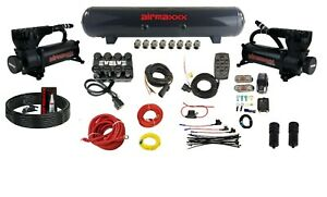 3 8 Air Management Kit Complete W 580 Black Compressors Tank Evolve Manifold