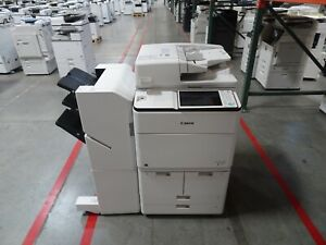 Canon Imagerunner Advance 6555i Color Copier Printer Scanner Only 67k Copies