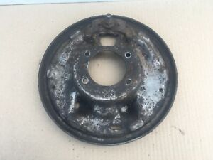 Ford 9 Inch Lh Drivers Drum Brake Backing Plate 9 73 79 67 72 1973 1979 Bronco
