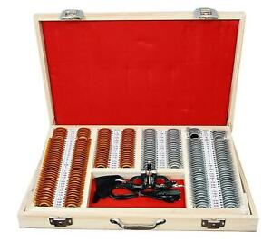 225pc set Trial Lens Set Case Optometry Frame Rim Metal Optical Quality Standard