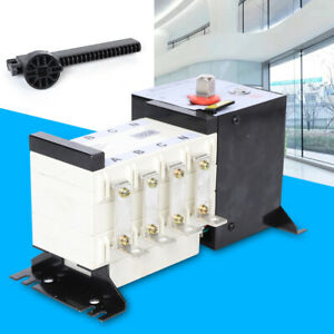 4p 160a 400v Ats Insulation Type Dual Power Automatic Transfer Switch Pc Level