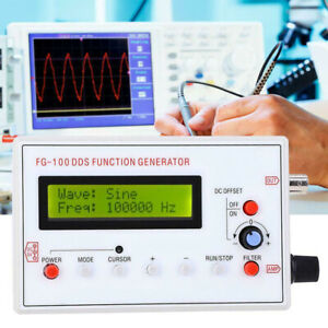 Fg 100 Dds Function Signal Generator Module Good Accuracy Frequency Counter J4