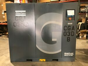 2018 Atlas Copco Ga90 Air Compressor 125hp Zero 0 Hours Unused
