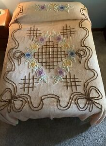 Vintage Chanel Bedspread size Full double
