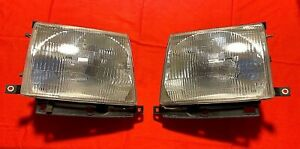 1997 2000 Toyota Tacoma Front Headlights With Sylvania High Intensity Bulbs