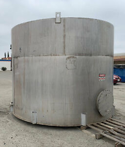 Stainless Steel Storage Tank 7000 Gallon 304 Stainless