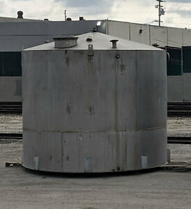 7000 Gallon Stainless Steel Storage Tank 304 Stainless