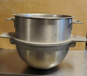 Used Welbilt Varimixer R60 29a Stainless Mixing Bowl Capacity 30 Fits 60