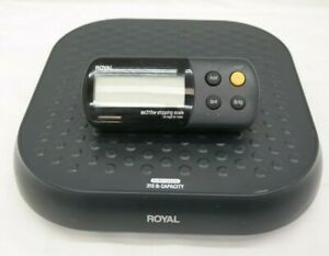 Royal Ex315w Shipping Scale With Wireless Weight Display 315lb Capacity El