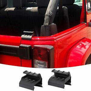 2 pack Steel Hard Top Clamp Release Handle Latch For Jeep Wrangler Jk 2007 2017