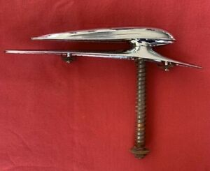 Original Henry Ford 1938 Ford Deluxe Hood Ornament