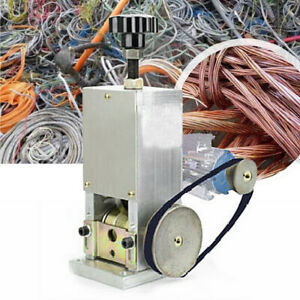 Electric Wire Stripping Machine Copper Cable Peeling Stripper Copper Recycletool