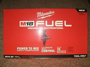 Brand New Milwaukee M18 Fuel 2810 20 Mud Mixer bare Tool Only