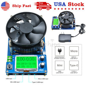 150w20a Constant Current Electronic Battery Capacity Test Electronic Load Tester