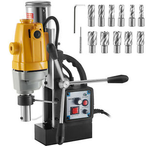 Vevor No load Speed Electromagnetic Magnetic Core Drill 1100w 11pcs Drill Bits