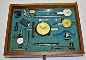 Lot Mitutoyo Federal Dial Bore Gauge 0005 Machinist Used