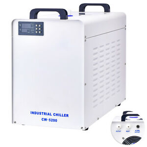 New Industrial Water Chiller Cw 5200 For Laser Engraver Engraving Machines