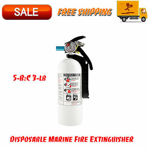 5 b c 3 lb Disposable Marine Fire Extinguisher Facility Safety Equipment