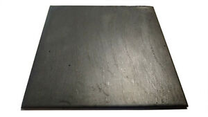 4 Pieces 5in X 5in X 3 8in Steel Flat Plate 0 375in Thick