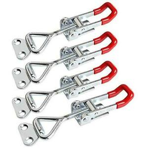 Renyiao Toggle Clamp Latch Gh 4001 Pull in Mounting Door Lock 4 Pieces
