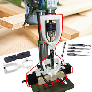 Woodworking Square Hole Chisel Mortising Mortise Tenon Drill Set For Bench Drill