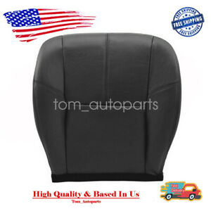 Driver Bottom Leather Seat Cover Black For Chevy Silverado Avalanche 2007 2014