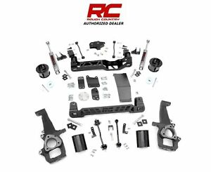 2009 2011 Dodge Ram 1500 4wd 6 Rough Country Lift Kit W N3 32930