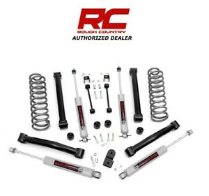 1993 1998 Jeep Zj Grand Cherokee 6 Cyl 4wd 3 5 Rough Country Lift Kit 636 20