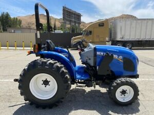 New Holland Workmaster 33 4x4 2016 Only 740 Hours Since New Pto Calif Tractor