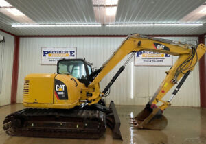2014 Cat 308e2 Cr Cab Excavator With A c And Heat