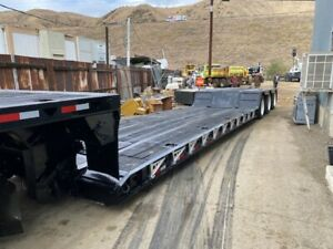 Bws Low Bed Trailer 100 000 Lbs Gvwr Disconect With Air System Clean