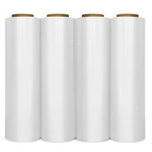 Strong Pallet Stretch Shrink Wrap Cast Parcel Packing Cling Film 18 X 1000