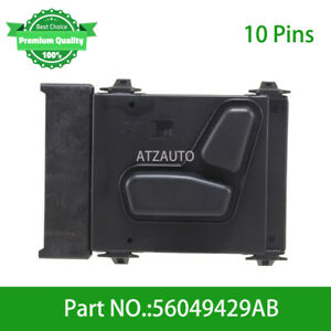 Driver Side Power Seat Control Switch For Jeep Grand Cherokee 05 16 56049429ab